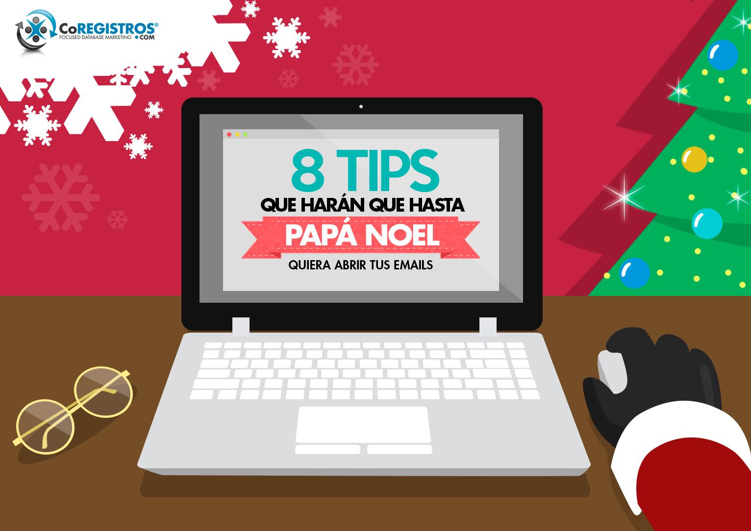 8 tips para que tu emailing triunfe en esta navidad