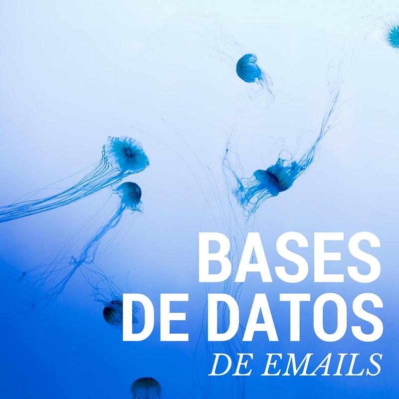 listados de emails
