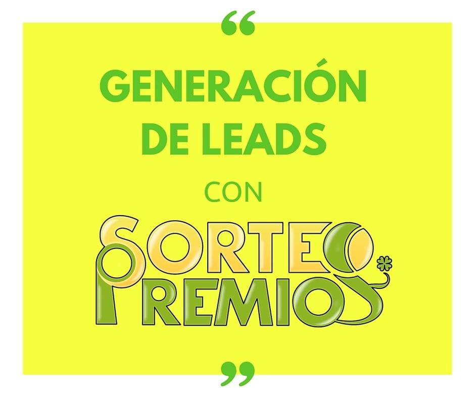 genera leads con SorteoPremios
