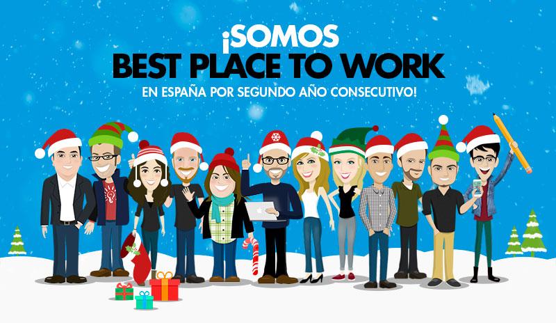 Somos una de las mejores empresas para trabajar en España 2015