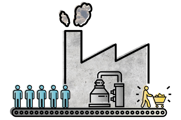 dibujo proceso venta lead nurturing