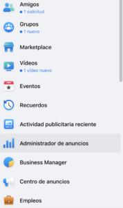 como entrar facebook ads manager