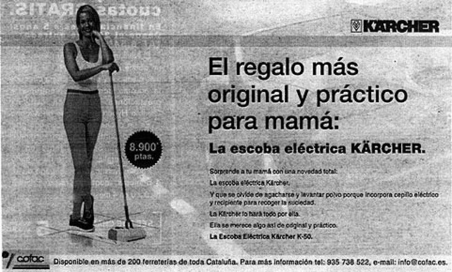 karcher anuncio sexista