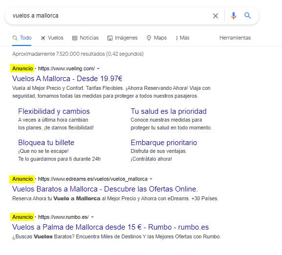 google ads SEM